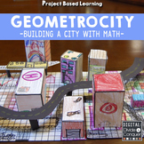 Project Based Learning: GEOMETROCITY!  Build a City of Mat