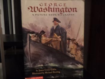 GEORGE WASHINGTON  ISBN 0-590-42551-X