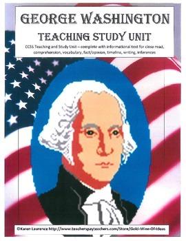 GEORGE WASHINGTON Teaching Study Unit Presidents Day US Hi