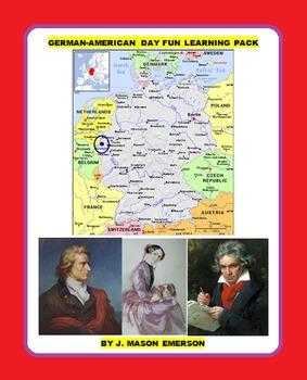 GERMAN-AMERICAN DAY FUN LEARNING PACK