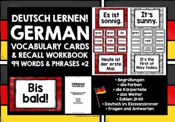 GERMAN VOCABULARY (2) - GAMES/ACTIVITIES - 99 WORDS/PHRASES