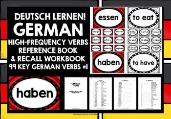 GERMAN VERBS (1) - GAMES & ACTIVITIES - 99 VERBS
