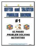 GIFTED AND TALENTED PROBLEM SOLVING #1