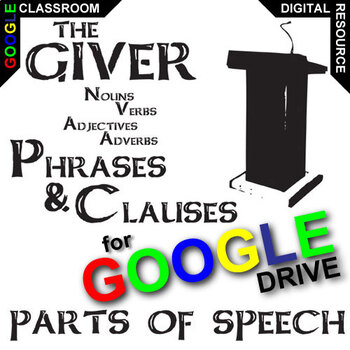 THE GIVER Phrases Clauses (Noun, Verb, Adjective, Adverb)