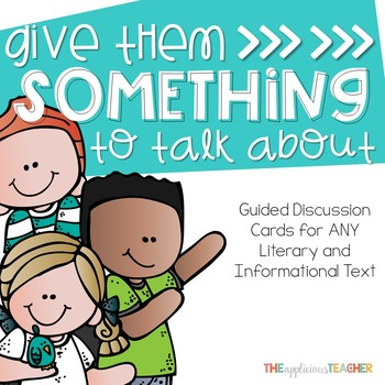 Student Led Discussion Cards