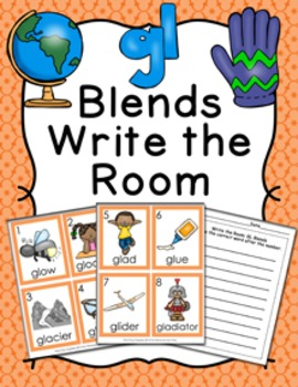 GL Blends Write the Room Activity