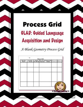 G.L.A.D. Process Grid Blackline Masters
