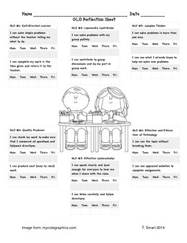 GLO Reflection Sheet