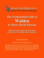 Grammardog Guide to Walden