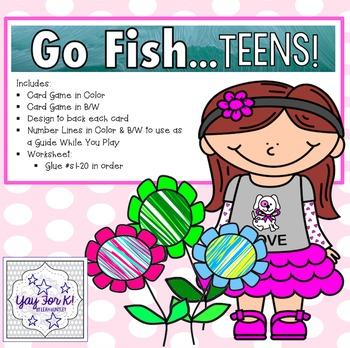 Go Fish--Teens