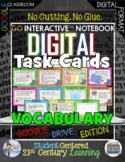 GO Interactive Digital Task Cards  Vocabulary Google Edition
