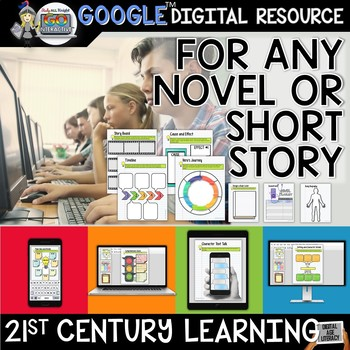 GO Interactive Digital Notebook Any Novel or Short Story G
