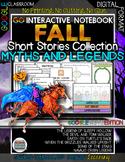 GO Interactive Notebook Google Edition Fall Short Stories
