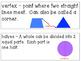 GO MATH! 1st Grade Chapter 12 Activities (2-D Geometry)