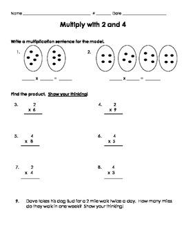 GO MATH CH 4 Worksheets