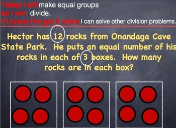 GO MATH Chapter 6 RTI Slides for iPad on Keynote Grade 3