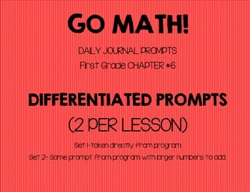 GO MATH! Journal Chapter 6