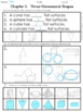 GO MATH'S CHAPTER ELEVEN:  SOLID SHAPES ASSESSMENT FOR FIR