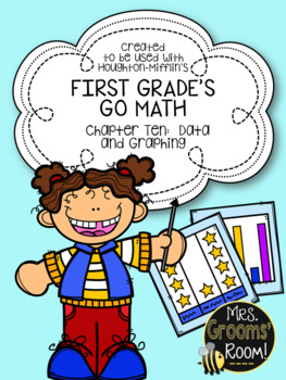GO MATH'S CHAPTER TEN:  DATA AND GRAPHING ASSESSMENT FOR F