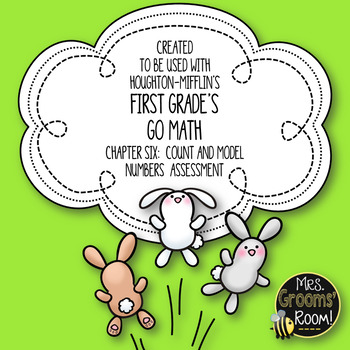 GO MATH'S CHAPTER SIX COUNT AND MODEL NUMBERS ASSESSMENT F