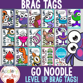 GoNoodle Level Up Brag Tags Freebie