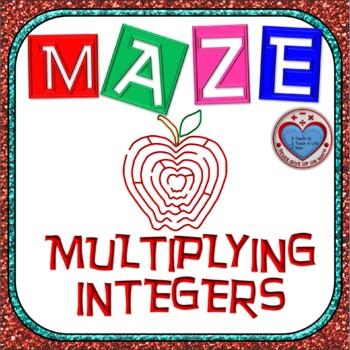 Maze - Multiplying Integers
