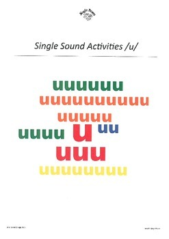 GOULFB Alphabet Sounds /u/