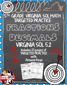 GRADE 5 FRACTION and DECIMAL EQUIVALENTS TARGETED PRACTICE