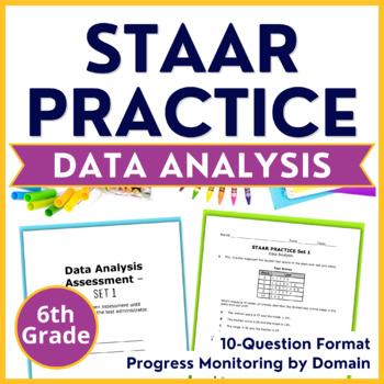 6th Grade Math STAAR Prep {DATA ANALYSIS & GRAPHS} TEKS 6.