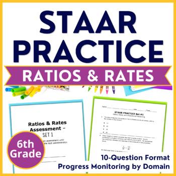 6th Grade Math {RATIOS RATES PROPORTIONS} Pre-Post Assessm
