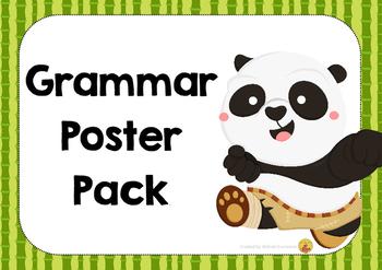 GRAMMAR posters - Australian Made