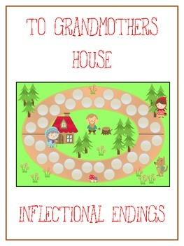 GRANDMOTHER'S HOUSE Inflectional Word Endings - ELA First