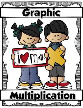 GRAPHIC MULTIPLICATION {Multi-Digit Multiplication Graphic