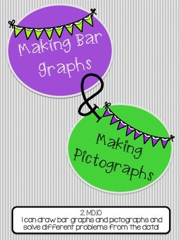 GRAPHING activties. Bar Graphs and Pictographs. Creating Graphs!