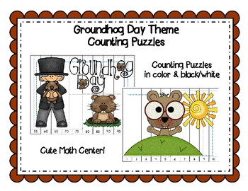 GROUNDHOG DAY COUNTING PUZZLES