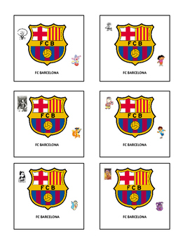 GROUPING CARDS FOR SPANISH CLASS