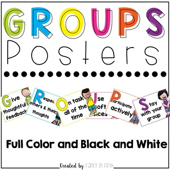 GROUPS Posters