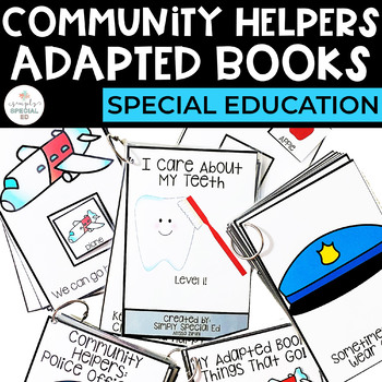 Adapted Books: Community Helpers