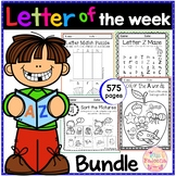 GROWING BUNDLE Alphabet Letter of the Week A to Z