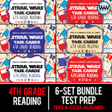 BUNDLE - STAAR WARS 4th Grade Reading Task Cards ~ SETS 1-6