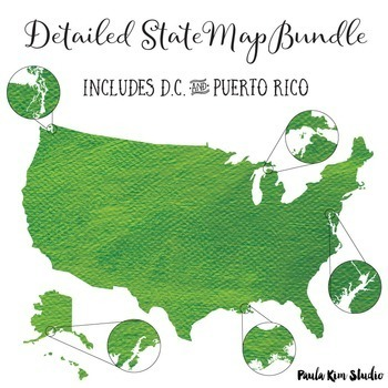 US State Maps