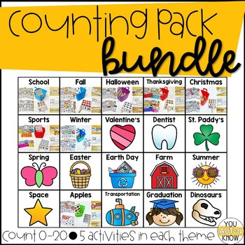 The BUNDLE: A Year Of Counting Packs