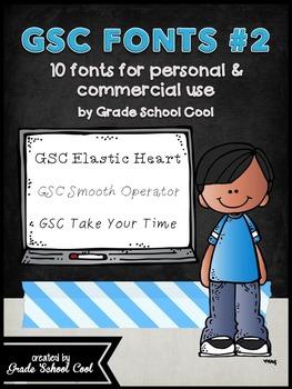 GSC Font Set #2