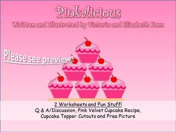 GUIDED READING: Pinkalicious - Worksheets, Plus Recipe and
