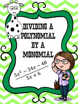 Gabby Giraffe's Gumballs Divide a Trinomial by a Binomial
