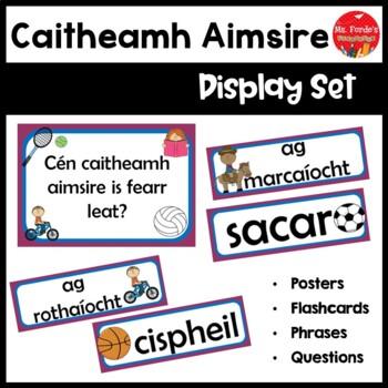 Gaeilge Caitheamh Aimsire Pack (Irish Hobbies/Pastimes Res