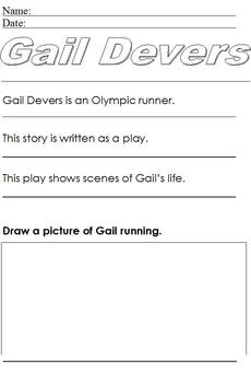 Gail Devers Biography; Summary and Notes for Special Educa