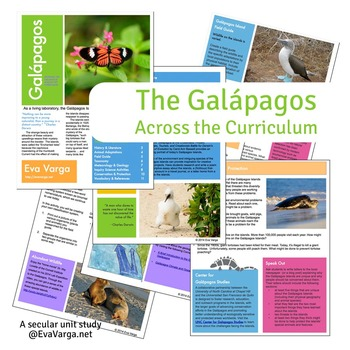 Galapagos Across the Curriculum