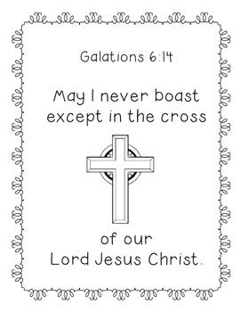 Galations 6:14
