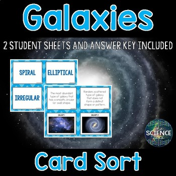 Galaxies Card Sort